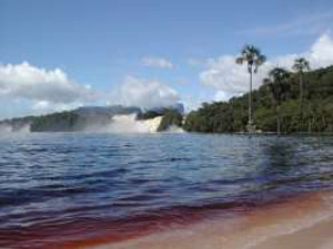 A beach in Canaima