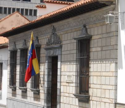 Casa Natal De Simón Bolívar Venezuela Tuya