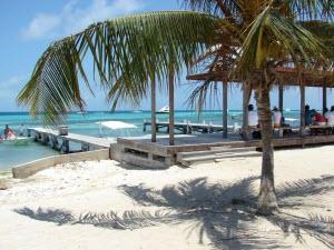 Playa blanca en Gran Roque - Foto cortesía de Geronimo Rosales