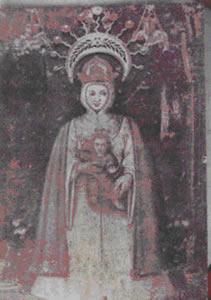 Virgen de La Consolación - Patrona del Táchira (Copia del retablo Original) Su ubicación está en la ciudad de Táriba Edo. Táchira, en la Basílica menor de Nuestra Señora de La Consolación