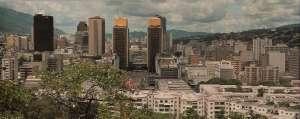 Centro de Caracas desde El Calvario